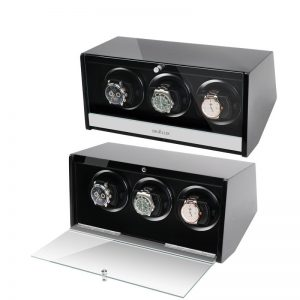 glossy watch winder