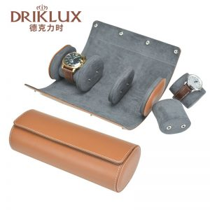 leather watch roll box